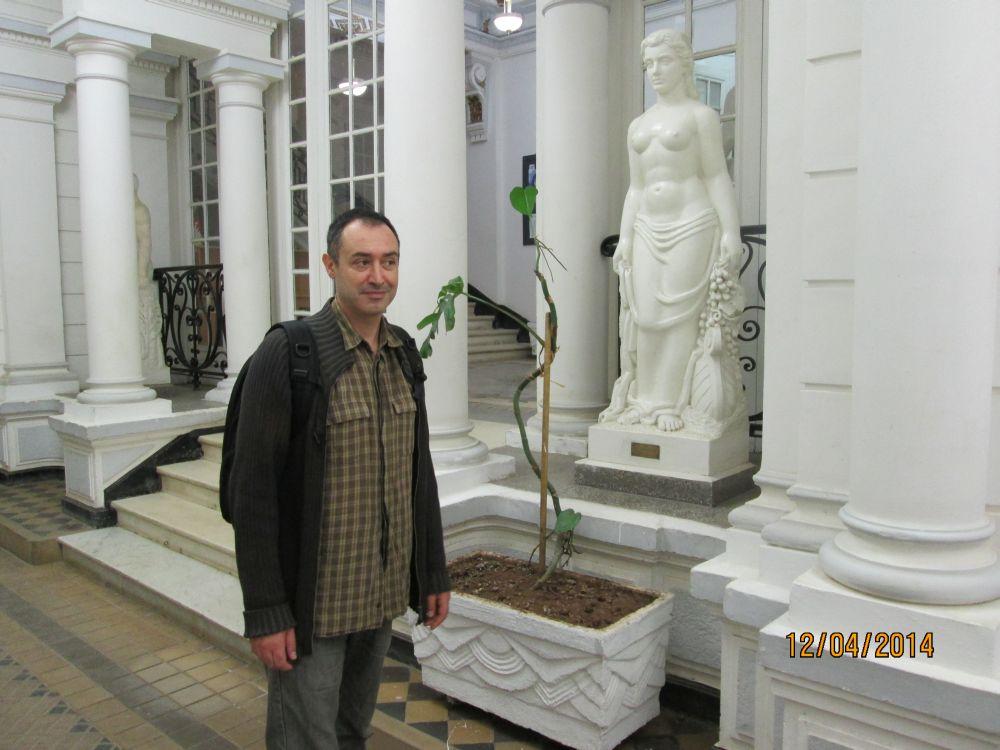 Oran - Intérieur de la Chambre de Commerce