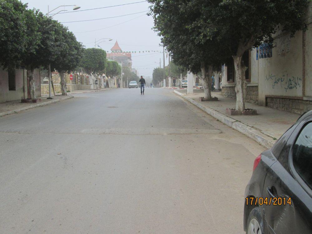 el-Kerma - La rue principale